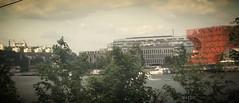 Lyon - Fourvière et le cube orange (Jeanne Menjoulet) Tags: confluence quai lyon architecture jakob macfarlane architects quaijeanjacquesrousseau mulatière fourvière cubeorange