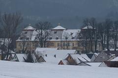 Schloss Oberschwappach (Klaus R. aus O.) Tags: schnee winter canon bayern schloss 650d oberschwappach knetzgau