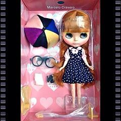 Neo Blythe Les Jeunette Box Set. #blythe #takara #boxmoment #boxset #lesjeunette #LES #RBL #toyart #cravero