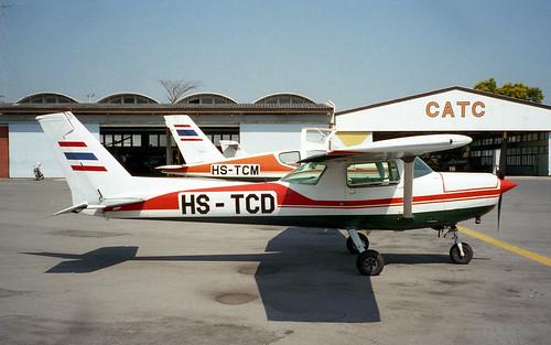 Cessna 152 HS-TCD Hua Hin Apr96