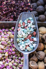 2014 Dubai Spice Souk (11) (maskirovka77) Tags: creek gold golden dubai market spice mosque abra souq unitedarabemirates deira oldcity ae walkingtour burdubai
