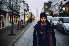 untitled (lukedennison132) Tags: leica portrait woman film fashion analog 50mm iceland model bokeh reykjavik summicron 400 portraiture m3 portra