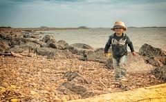 IMG_7021s (savillent) Tags: ocean travel family portrait canada beach canon landscape rocks northwest north shoreline july arctic climate territories pingos 2016 tuktoyaktuk sx700 savillent