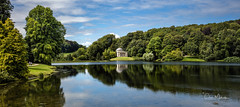 Stourhead (clive_metcalfe) Tags: stourhead nationaltrust wiltshire water lake trees sky capabilitybrown pathenon uk