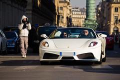Sortie FAsters Fvrier 2012 - Ferrari F430 Spider (Deux-Chevrons.com) Tags: auto paris france car spider automobile automotive ferrari voiture exotic coche gt supercar exotics f430 supercars 430 ferrarif430 ferrari430 ferrari430spider ferrarif430spider fasters
