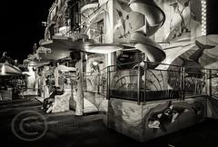 London Nov 2015 (7) 066 - Winter Wonderland in Hyde Park (Mark Schofield @ JB Schofield) Tags: park christmas street city winter england white black london monochrome canon fairground carousel hyde oxford rides nightlife wonderland stalls 5dmk3