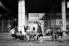 *** (Misha Sokolnikov) Tags: moscow teenagers teenager street russia candid streetphotography leica leicamonochrom monochrom 50mm aposummicron summicron leicamm blackandwhite blackwhitephotos noiretblanc