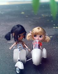 Cassiopeia Spice&Heather sky (k07doll) Tags: cute bigeyes doll sweet blythe custom cubby blythedoll rbl customblythe blythecustom k07 k07doll