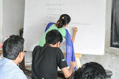 WDE1 (30) (Community of Physics) Tags: 1st workshop differential equations community physics wwwcommunityofphysicsorg calculus integral integration superposition technique oscillation drag force four day linear cauchy euler suritola bangladesh bgd mobile registration order damped driven projectile fourier series