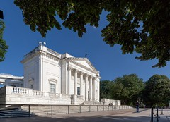 Arlington Pano #3 (josullivan.59) Tags: green arlington cemetery washington wallpaper white 3exp travel trees usa unitedstates panorama artisitic architecture architectural day dc disctrictofcolumbia historical history june light lightanddark canon6d clear blue building tomb wide wideangle 2016