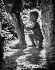 Father's feet (Padmanabhan Rangarajan) Tags: araku valley vizag india rural tribals boys villagers