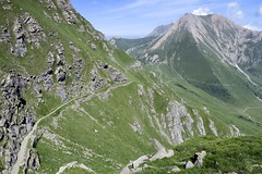 Road down to Finestre (will_cyclist) Tags: italy cycling military finestre assietta