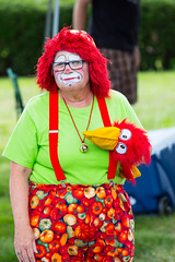showmens rest. august 2016 (timp37) Tags: clown august 2016 showmens rest illinois summer woodlawn cemetary forest park
