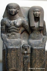 Sennefer and wife Senay (konde) Tags: sculpture statue museum cairo granite karnak 18thdynasty hieroglyphs senay ancientegypt newkingdom sennefer amenhotepii mutnofret