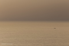 The Mission (Normann Photography) Tags: costablanca morningmist spain amazing availablelight boat coloresnaturales dawn haze minimalistic ocean sea simplicity sunrise themission vacation