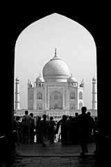Taj Mahal 21 (David OMalley) Tags: world india heritage river this 1 is photo site album tomb group taj mahal agra beta unesco mausoleum add items 2008 shah pradesh uttar jahan remastered 159 mughal mumtaz yamuna tagstags