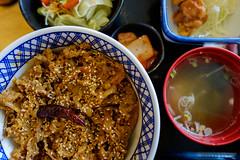 Gyudon!!! (Kantashoothailand) Tags: fujifilm xt10 xf16mmf14rwr lunch meal yoshinoya japanesefood happiness gyudon  delicious yummy