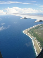 Nauru seen from Nauru Airlines!
