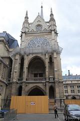 Sainte-Chapelle du Palais (tomosang R32m) Tags: paris france church gothic chapel stainedglass romain saintechapelle  catholique       saintechapelledupalais