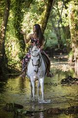 Alejandra&Bimbo (tamara.lsanchez) Tags: caballo horse chica girl modelo model lugo galicia horsephotography fotografiaecuestre ecuestre equestrian equine equus equinephotography naturaleza nature
