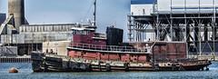 Retired Tug (PAJ880) Tags: retired tug cynthia moran mystic river boston ma industry powerplant barge