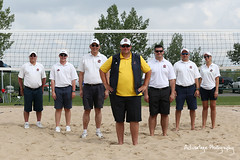 The Referees of Beach Volleyball (AdvantagePhotography) Tags: sports sporting events competition tournament championship advantagephotography albertasummergames 2016 unleash2016 asg2016 leduc alberta volleyball beach referees outdoor groupshot sand