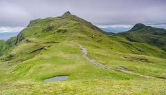 10 On to the Next (daedmike) Tags: thetarmachanridge scotland perthshire hillwalking hills meallgarbh beinnnaneachan ridges