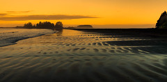 Come on, take a walk with me (John A. McCrae) Tags: sunlight beach seaside seascape sand frankisland lighthouse lennardislandlighthouse chestermanbeach pacificrim pacificocean westcoast tofino britishcolumbia vancouverisland water waves sunrise