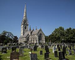 Photo of St Margarets Church. Bodelwyddan. Wales