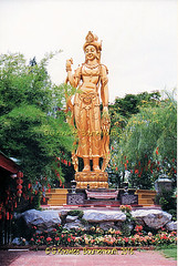 The Mondop of Bodhisattva Avalokitesavara, Kuan-Yin  in the Ancient City, Muang Boran, Samut Prakan Provimce, Thailand. (samurai2565) Tags: samutprakan samutprakanprovince thailand ancientsiam ancientcity muangboran sukhumvitroad bangkok lekviriyaphant bangpu