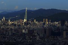 Taipei Skyline 2016  (*dans) Tags: taipei skyline taipeiskyline  taipei101 101 taiwan skyscraper 101  sunset dusk twilight twilighttaipei twilighttaipei101  cityscape           twtc taipeiworldtradecenter  whotel             taipeidome    banqiao