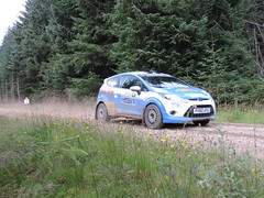 Grampian Stages Rally 2016 (RS Pictures) Tags: src scottish rally championship coltel grampian stages stage 2016 durris ss forest forestry road track special ss6 2 ford fiesta r2 motorsport auto