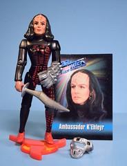 K'Ehleyr (FranMoff) Tags: actionfigures startrek klingon nextgeneration kehleyr ambassador