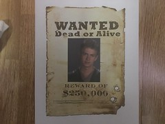 wanted dead or alive (timp37) Tags: wanted dead or alive anakin skywalker star wars episode 2 sign