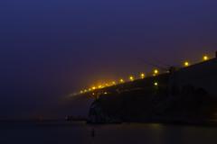 Fog Bridge (Bob Nastasi) Tags: goldengatebridge fog marinheadlands sausalito california 2016 bobnastasi d800e
