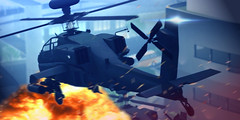 """""""Into The Hot Zone"""" (Eripom^^) Tags: secondlife ssoc the omega concern wah64 ah64 boeing helicopter attack weapon vehicle military gun missile agm sky action outdorr"""