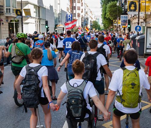 Unicon18 opening parade
