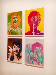George John Ringo & Paul - NYC (verplanck) Tags: look vanishing iconic photography richardavedon art moma 1960s psychedelic posters thebeatles
