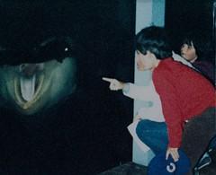 Private Audience with Shamu - 1981 (kimstrezz) Tags: 1981 policeolympics1981 policeolympics bert shamu killerwhale orca seaworld sandiego kim