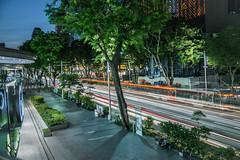 Orchard Road, Singapore (KSAG Photography) Tags: street singapore lighttrails road asia southeastasia urban travel night city cityscape