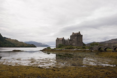 Eilean Donan Castle (thulobaba) Tags: ellean donan castle scotland highlands nc500 overcast cloudy sea coast