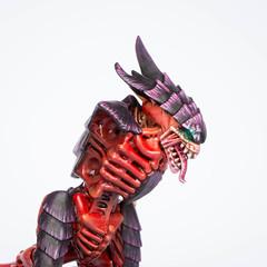 Tyranid Warrior: Head (Will Vale) Tags: tyranids 28mm 40k wh40k gamesworkshop tyranid scifi tyranidwarrior