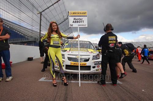 Hunter Abbott on the grid at Rockingham 2016