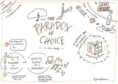 Paradox of choice: a case study