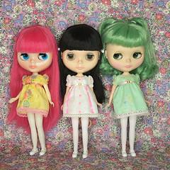 pepi, miss michaela & flossie