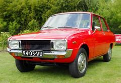 1973 Mazda 1000 (peterolthof) Tags: youngtimerevent2015 9403vu mazda 1000 sidecode2 mazda1000 peterolthof
