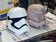 7 June Progress17 (thorssoli) Tags: starwars costume helmet replica armor prop firstorder flametrooper forceawakens