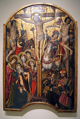 Medieval Gothic Art (kate223332) Tags: barcelona art museum painting religion catalonia calvary medievalgothicart