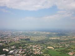 Vista panorámica de San Marino (San Marino)