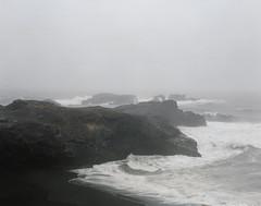 img365 (melkore314) Tags: mamiya film landscape blacksand iceland kodak iso400 volcanic portra basalt vk newtopographics mamiyarb67prosd dusseldorfschool